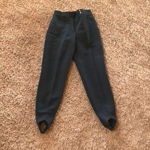 Pants - 80's vintage stirrup ski pants. Women's size 8!